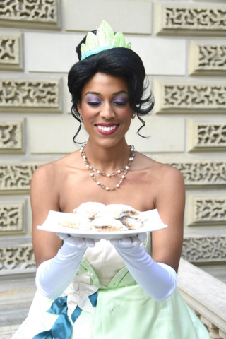 Frog Princess with Beignets